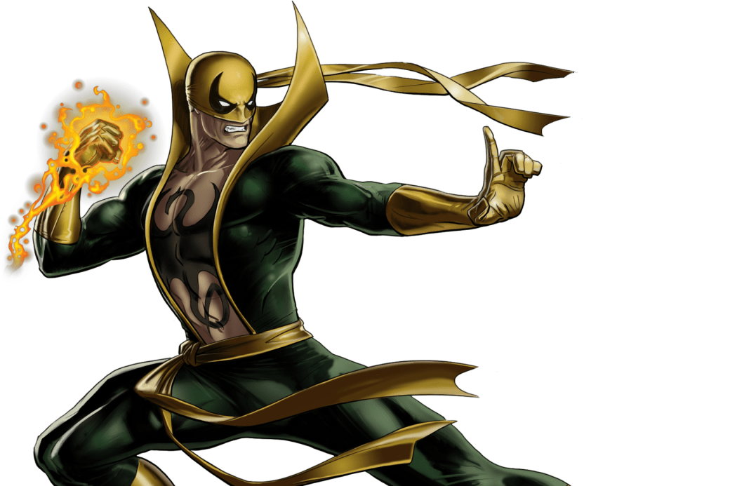 Iron Fist in Costume