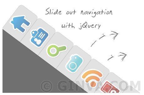 Beautiful Slide Out Navigation