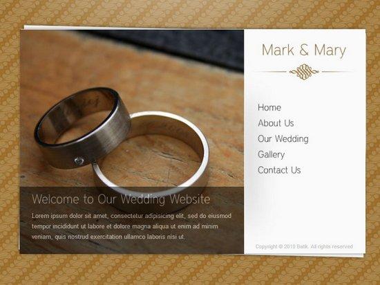 20 Best Wedding Website Templates Css Html WordPress Ginva