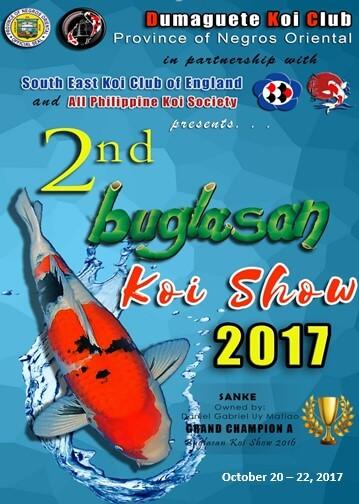 2nk koi fish buglasan show 2017