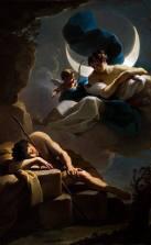 """Ubaldo Gandolfi, """"Selene and Endymion"""" (1770)"""