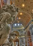 Cherubs in St. Peter, Rome