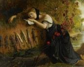 "Joseph Severn, ""Ophelia"" (1831)"