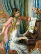 """Pierre-Auguste Renoir, """"Two Young Girls at the Piano"""" (1892)"""