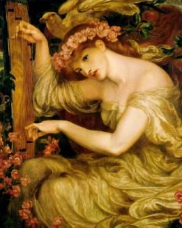 """Dante Gabriel Rossetti, """"A Sea Spell"""" (1877)"""