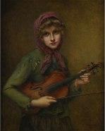 "François Martin-Kavel, ""The Young Violinist"" (?)"