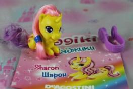 Sharon è l'unicorno della fantasia, il miglior amico è Nelson