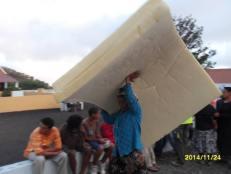 Evacuazione di Portela (Fogo, Capo Verde), novembre-dicembre 2014 - 7/14