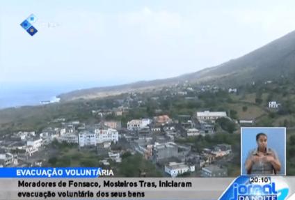 Evacuazione di Fonsaco (Fogo, Capo Verde), 9 dicembre 2014 - 1/10