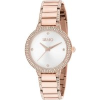 OROLOGIO DONNA LIU JO BRILLIANT GOLD ROSE Cod. TLJ1282