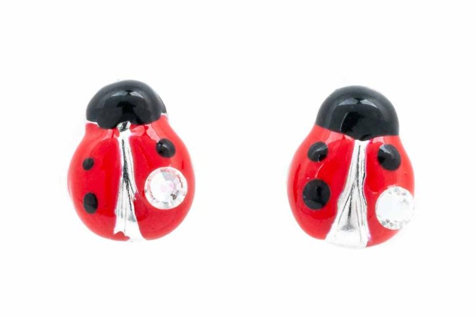orecchini-bimba-coccinella-rossa-cristallo