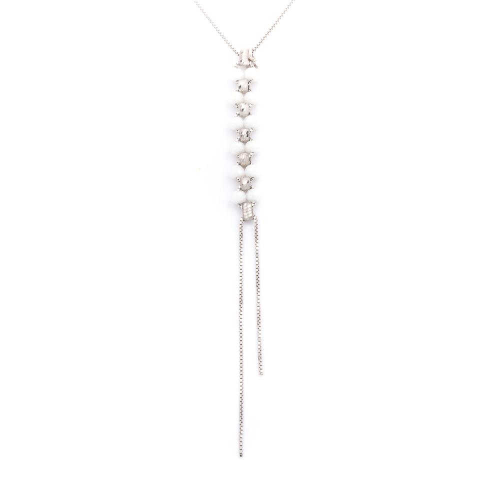 collana colorata bianca collezione femme