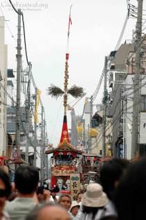 naginata boko shinmachi gion festival procession kyoto japan
