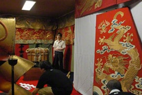 ofune boko treasure display gion festival kyoto japan