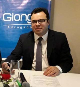 Advogado Cristiano Giongo.