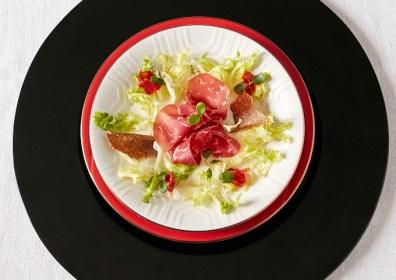 Ricetta light: Insalatina di bresaola; Chef Salvatore Bianco