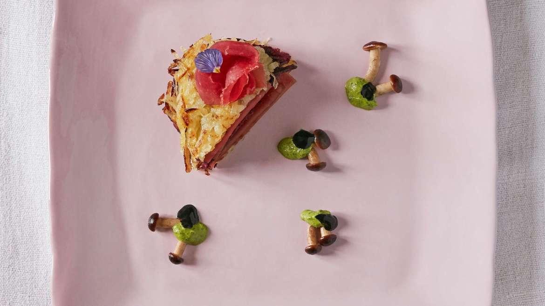 Ricetta Bresaola Giò Porro: bresaola Rosé con porro, patate e funghi