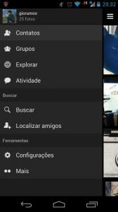 Flickr para Android. Diferente, mas bom