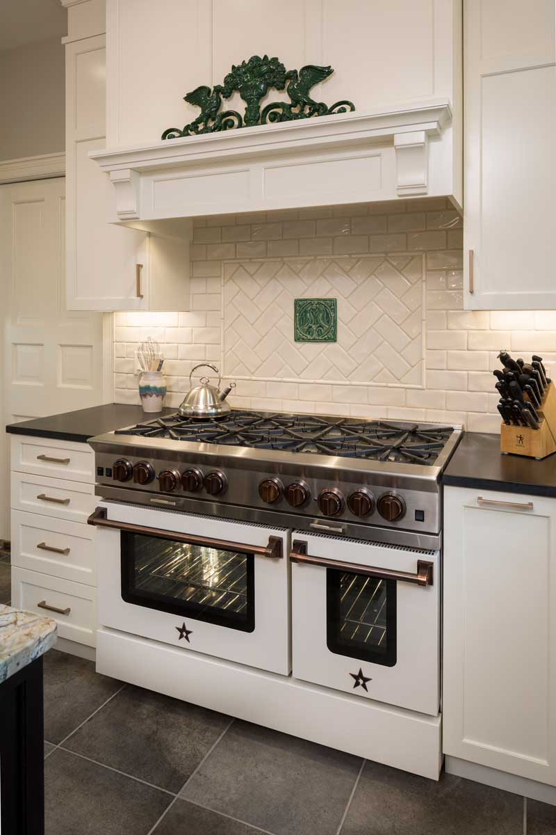 Kitchen Copper Accents In Wilmington Delaware