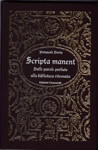 libro scripta manent