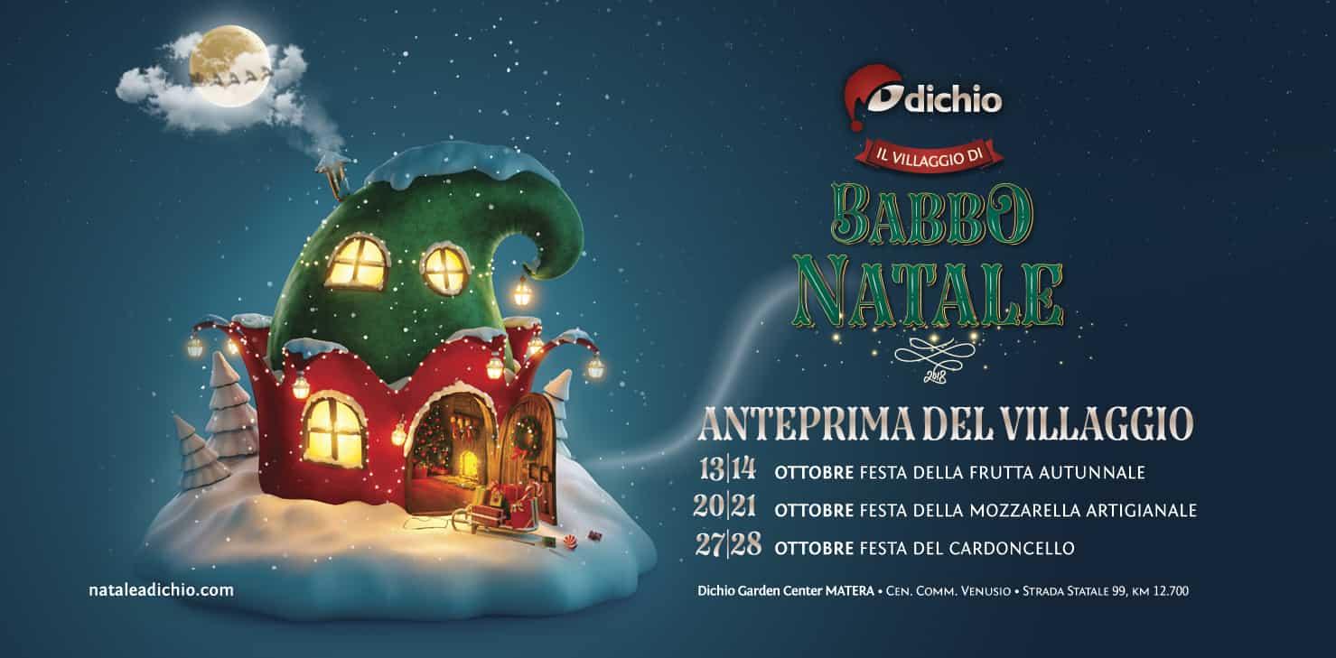 Immagini Del Villaggio Di Babbo Natale.A Matera Il 13 Ottobre Riapre Il Villaggio Di Babbo Natale