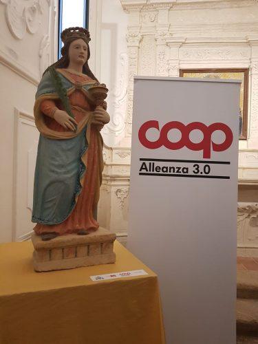 Coop Alleanza 3 0 Con Opera Tua Restaura La Statua Di Santa Lucia Giornalemio It