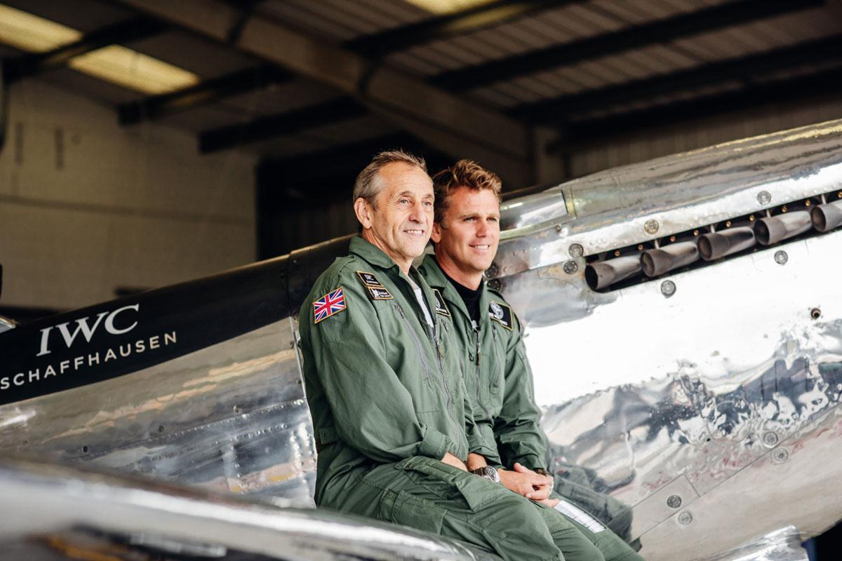 I piloti del Silver Spitfire
