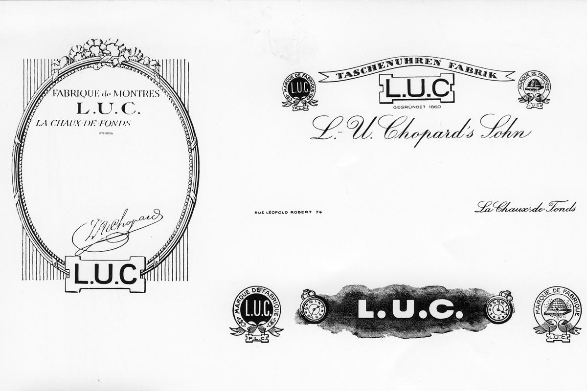 Varianti del logo L.U.C