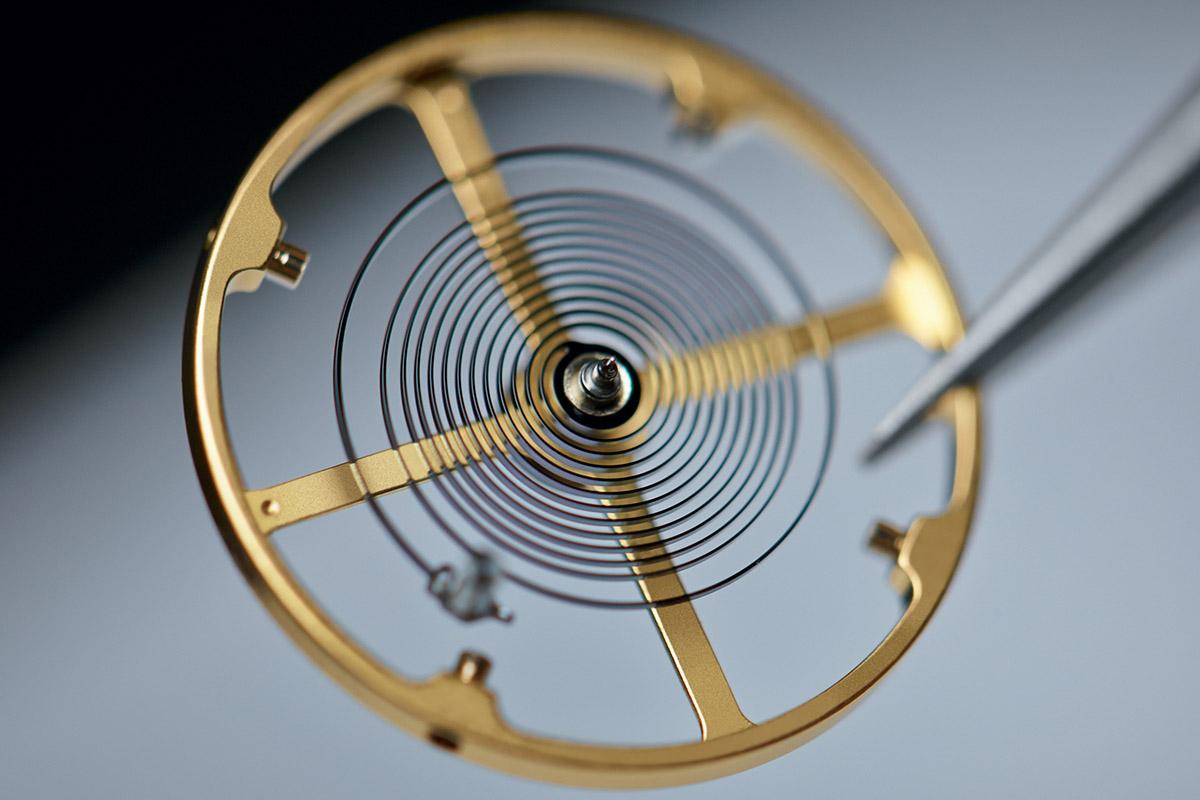 Il sistema bilanciere-spirale del Calibro Tudor MT56125