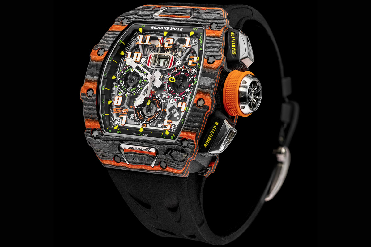 Lotto 34 – Richard Mille RM 11-03 Automatic Flyback Chronograph MacLaren
