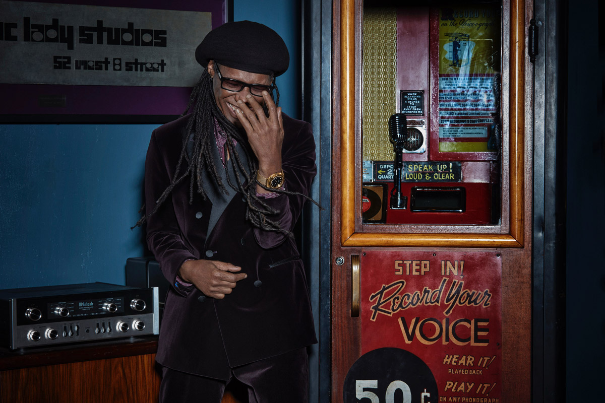 """Nile Rodgers, mentore di """"Tune of Time"""""""