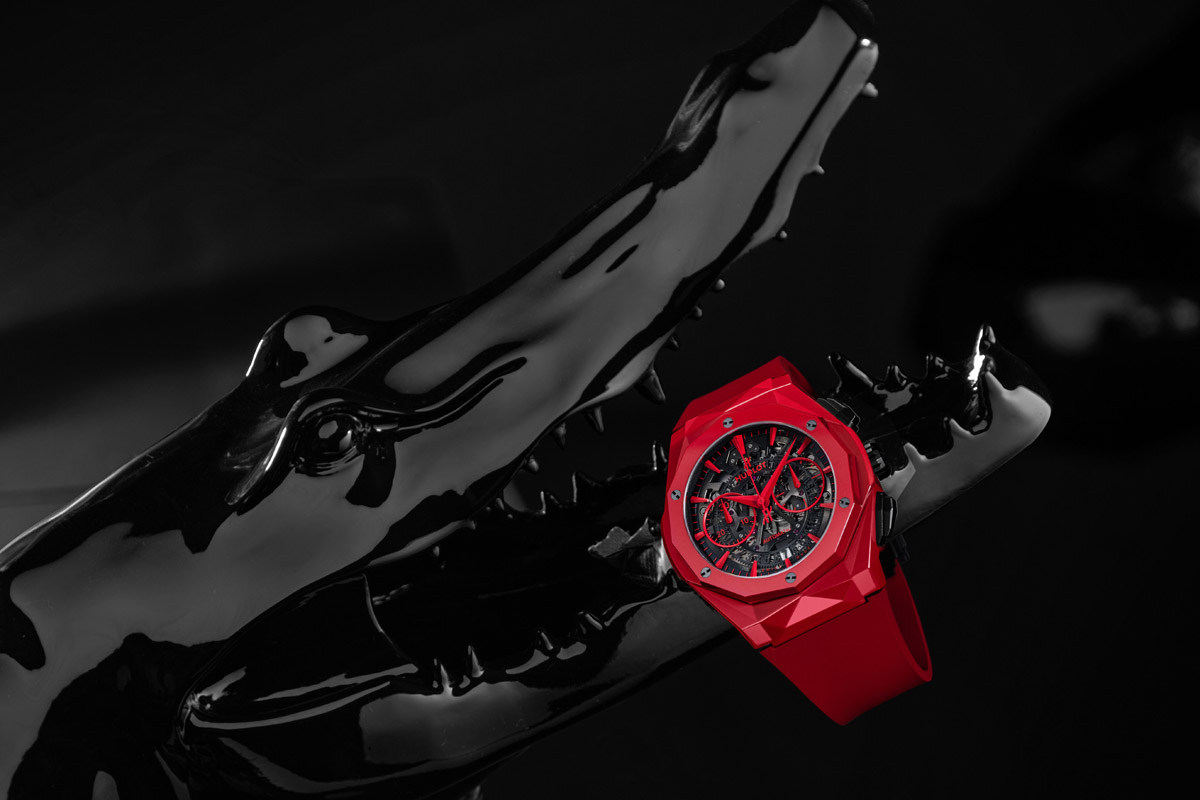 Classic Fusion Aerofusion Chronograph Orlinski Red Magic