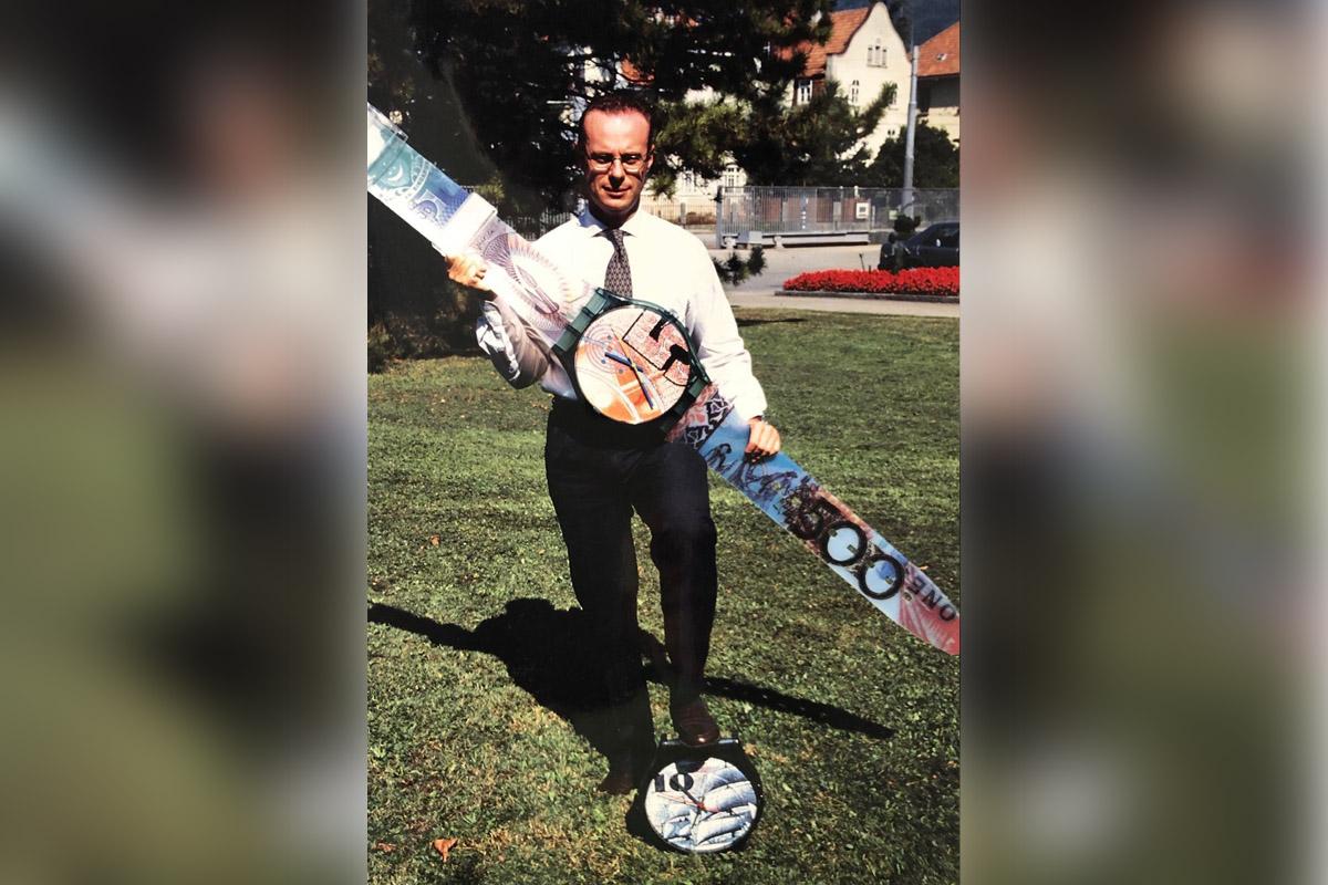 Carlo Giordanetti nel 1994
