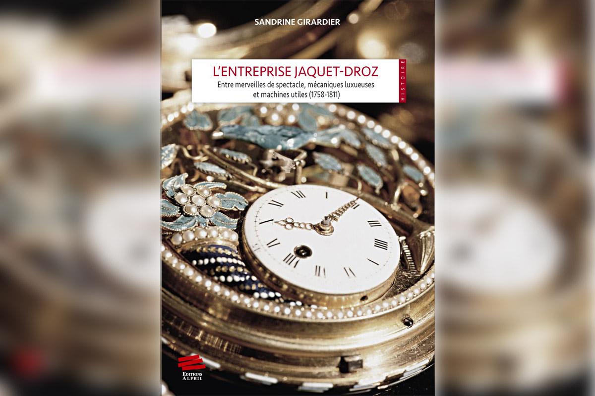 """La copertina di """"L'entreprise Jaquet-Droz"""""""