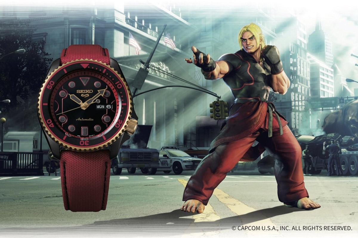 Seiko 5 Sports Street Fighter Ken