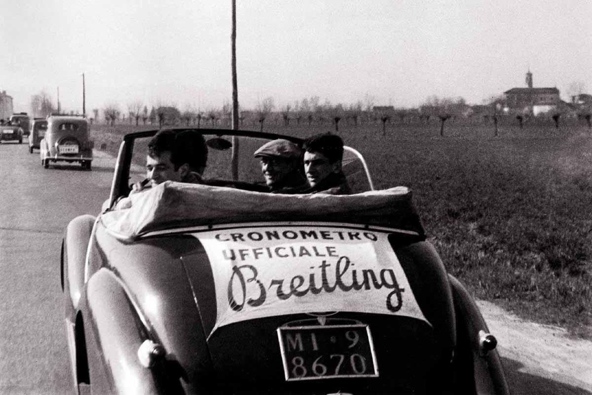 Il link fra Breitling e il ciclismo nei primi anni Cinquanta