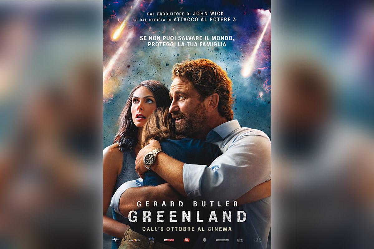 """La locandina di """"Greenland"""""""