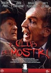 Locandina Il club dei mostri