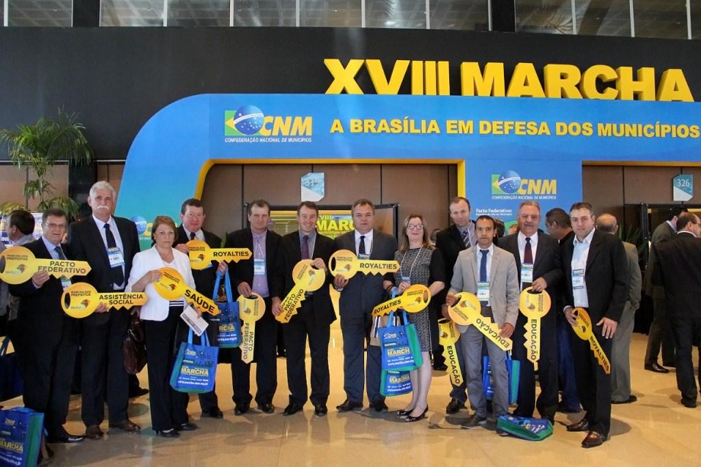 MARCHA preveitos vereadores brasilia 2015 giovani cherini
