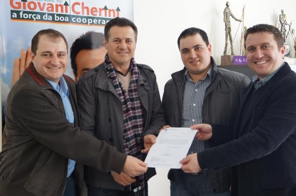 Santa Cecília do Sul recebe emenda parlamentar do Deputado Federal Giovani Cherini