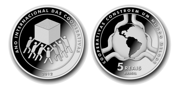 Ano Internacional das Cooperativas moeda