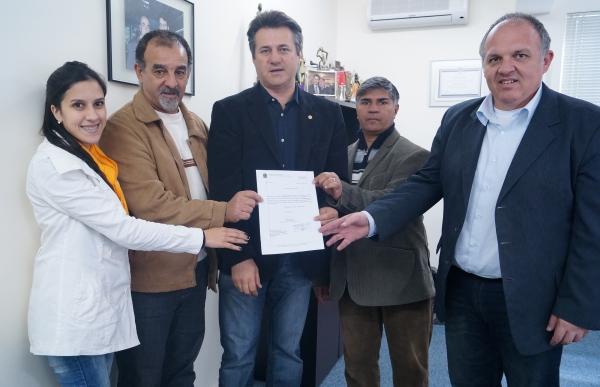 Deputado Giovani Cherini indica emenda parlamentar para Eldorado do Sul