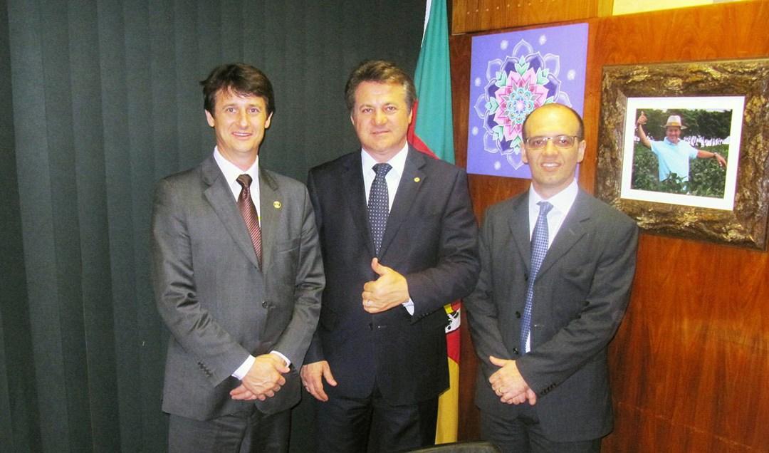 Bancada Gaúcha comemora com Emater/RS