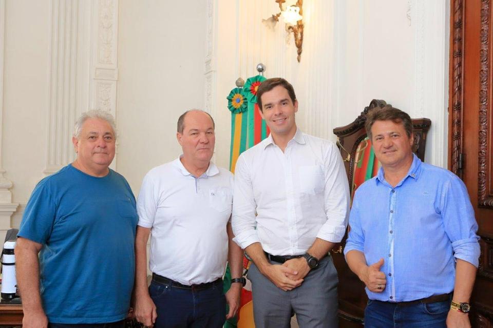 Audiência com Sec. Márcio Biolchi para tratar do Conselho dos Técnicos Agrícolas e Industriais