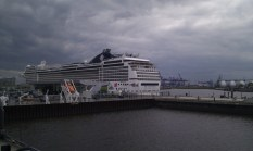 MSC Magnifica from office