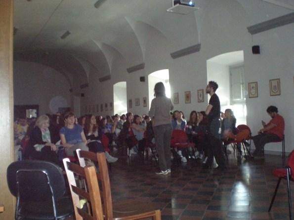 """""""Sentieri di notte"""" al Convitto Cicognini di Prato (con Vieri Tommasi Candidi)"""