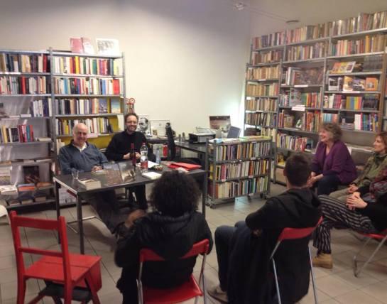 Con Marino Magliani alla Libreria Bonardi
