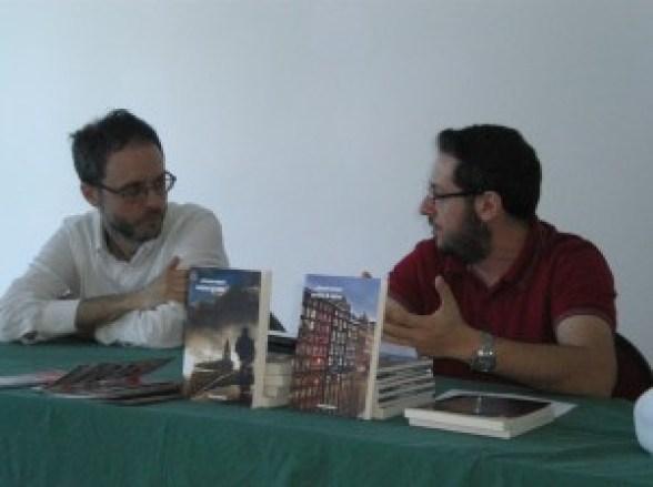 """Con Giovanni De Matteo alla presentazione di """"Partita di anime"""" all'Italcon 2014 (Bellaria)"""