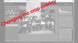 Lightroom Tutorial | Changing the crop overlay