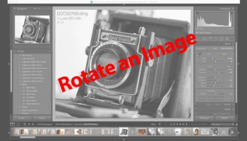 Tutorial adding a watermark or copyright in lightroom mobile on ios lightroom tutorial rotate your image using the crop tool ccuart Images